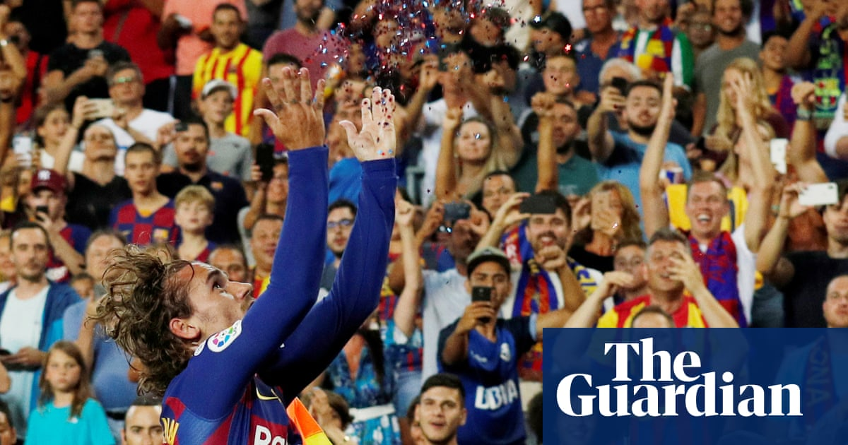 Antoine Griezmann copies from the best with first Barcelona impact   Sid Lowe