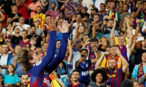 Antoine Griezmann Copies From The Best With First Barcelona