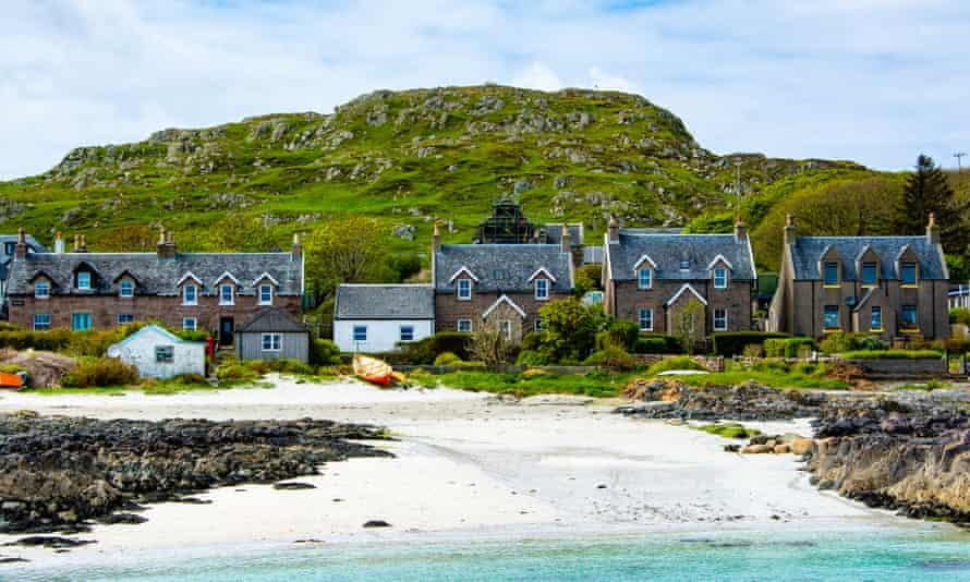 Casas en la playa, Iona.