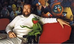 Jim Henson and Kermit.