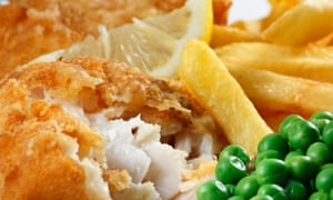 Back on the menu: cod and chips.