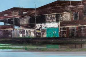 Tate Moss, 2008 by Jock McFadyen.