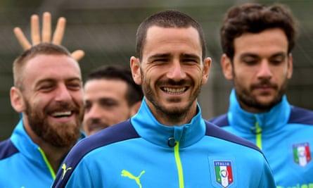 Italy's Leonardo Bonucci
