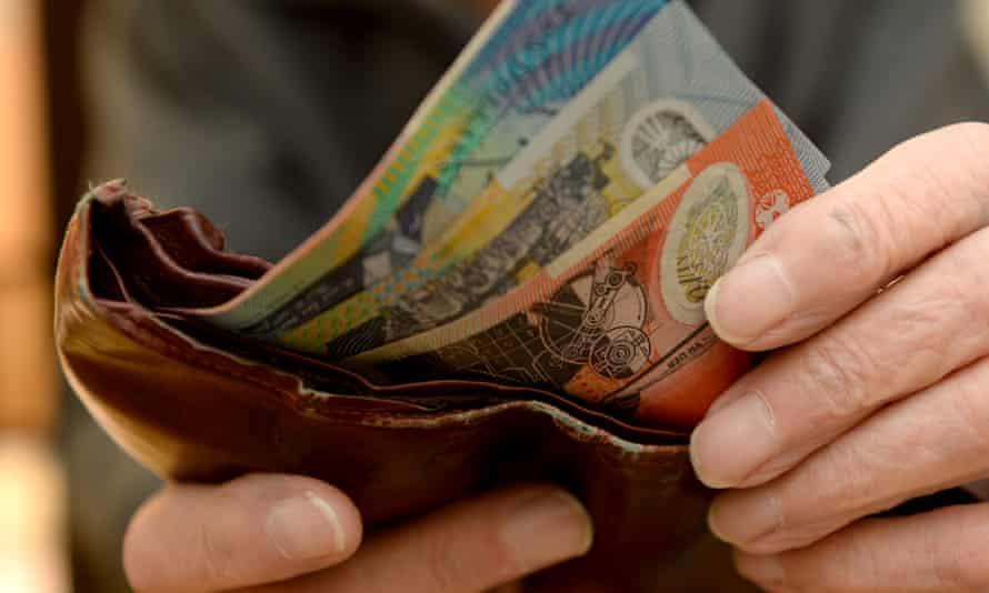 Australia money wallet