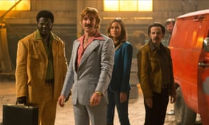 'A handheld style makes you feel like there's a human witnessing the story' … Ben Wheatley's Free Fire.