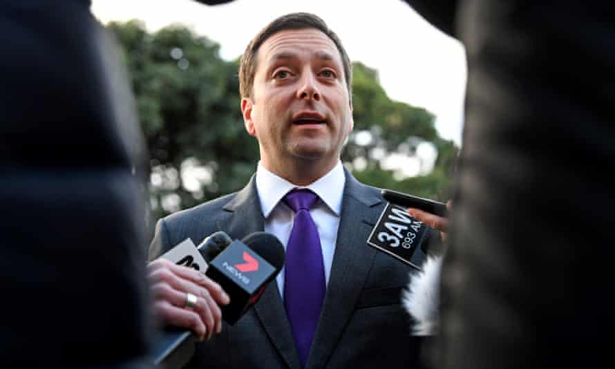 Opposition leader Matthew Guy has made crime a central issue in the election.