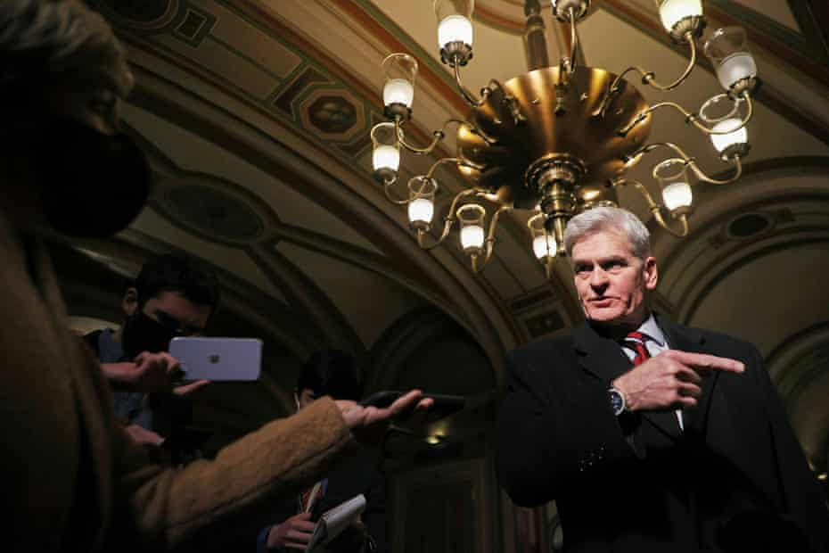 Senator Bill Cassidy switched his position to vote for the trial to proceed having previously voted not to do so.
