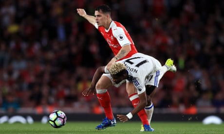 Arsenal's Granit Xhaka fired by his father's struggle for freedom