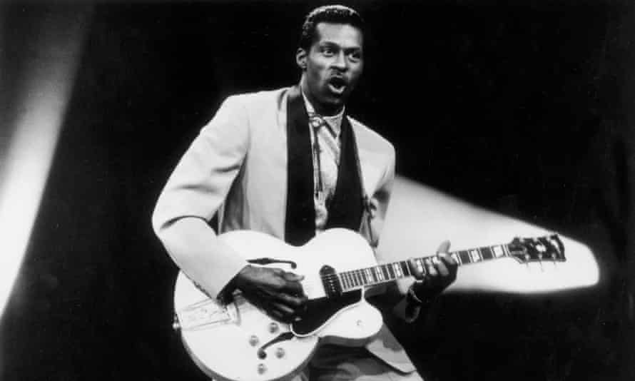 Chuck Berry in 1955