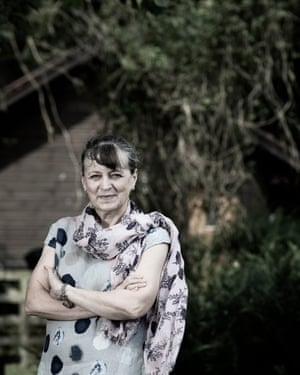 Palliative care specialist, Dr Kathryn Mannix, photographed at home in Northumberland.