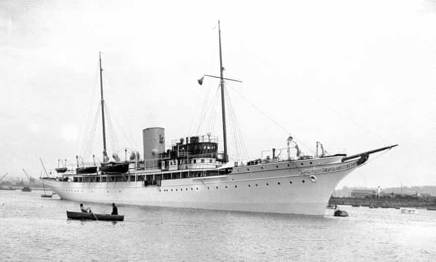The Nahlin, pictured in 1936.
