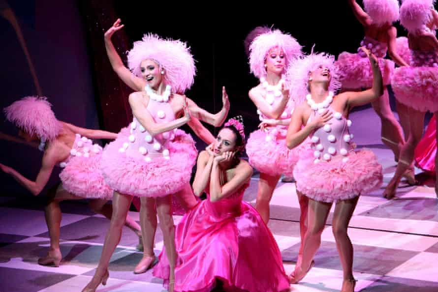 Michela Meazza as Princess Sugar in Nutcracker! at Sadler's Wells, London, in 2007.