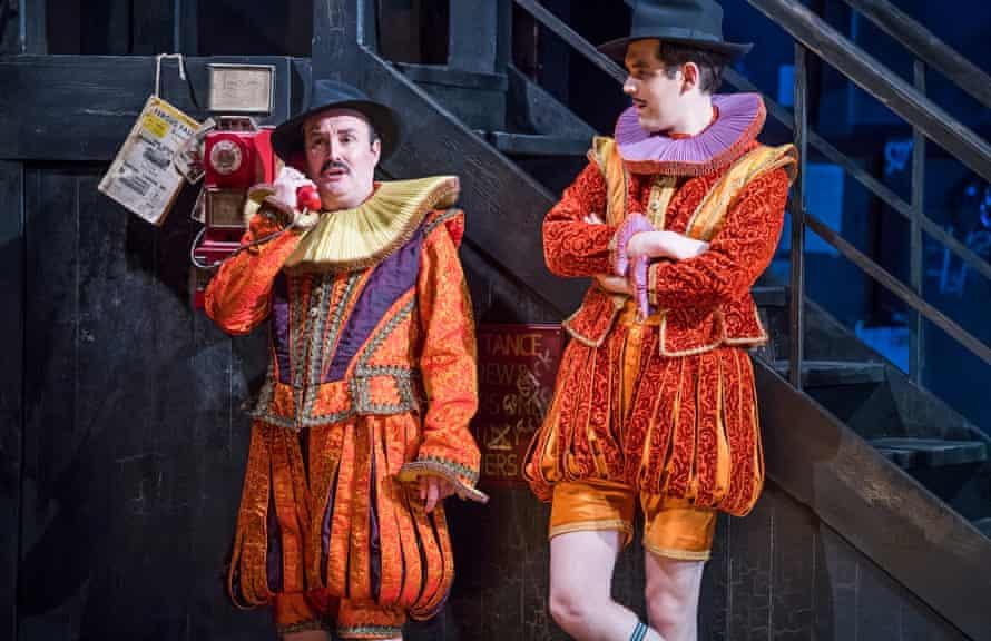 Brushing up their Shakespeare … Joseph Shovelton and John Savournin in Kiss Me Kate.