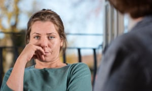Vulnerable Woman In a Counselling
