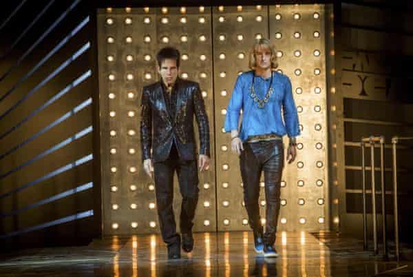 'لباس پوشیدن لباس پوشیدن' ... درک Zoolander و Hansel ، در صحنه ای از Zoolander.