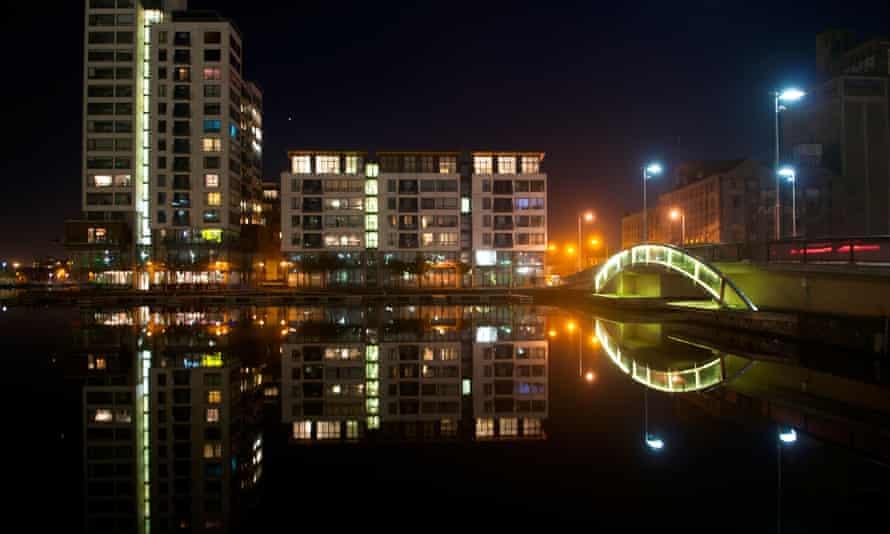 Grand Canal basin Dublin