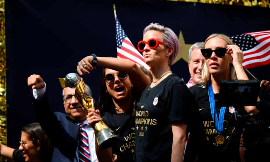The US women's soccer team are wildly popular with the public