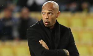 Thierry Henry lasted only three months at Monaco before leaving the Ligue 1 club in January.
