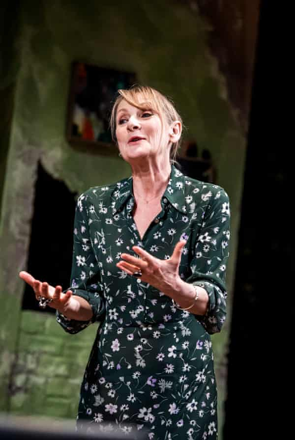 Political earnestness ... Lesley Sharp as Sal in The End of History.