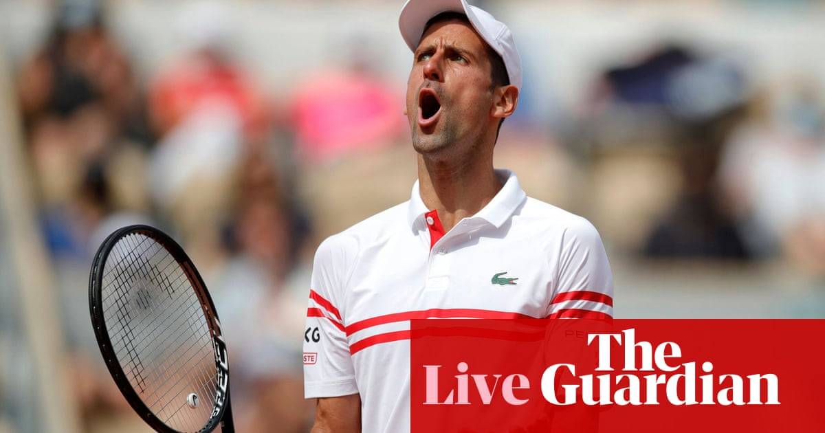 French Open 2021: Barty retires injured, Djokovic and Federer in action – live!