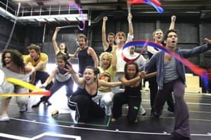 Wicked in rehearsal in the summer of 2006.
