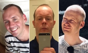 Victims of the suspected Reading terror attack: (from left) Joe Ritchie-Bennett, David Wails, James Furlong.