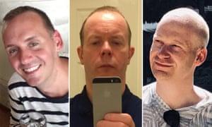 Joe Ritchie-Bennett, David Wails and James Furlong