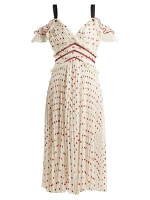 Self-Portrait dress, £300, from matchesfashion.com