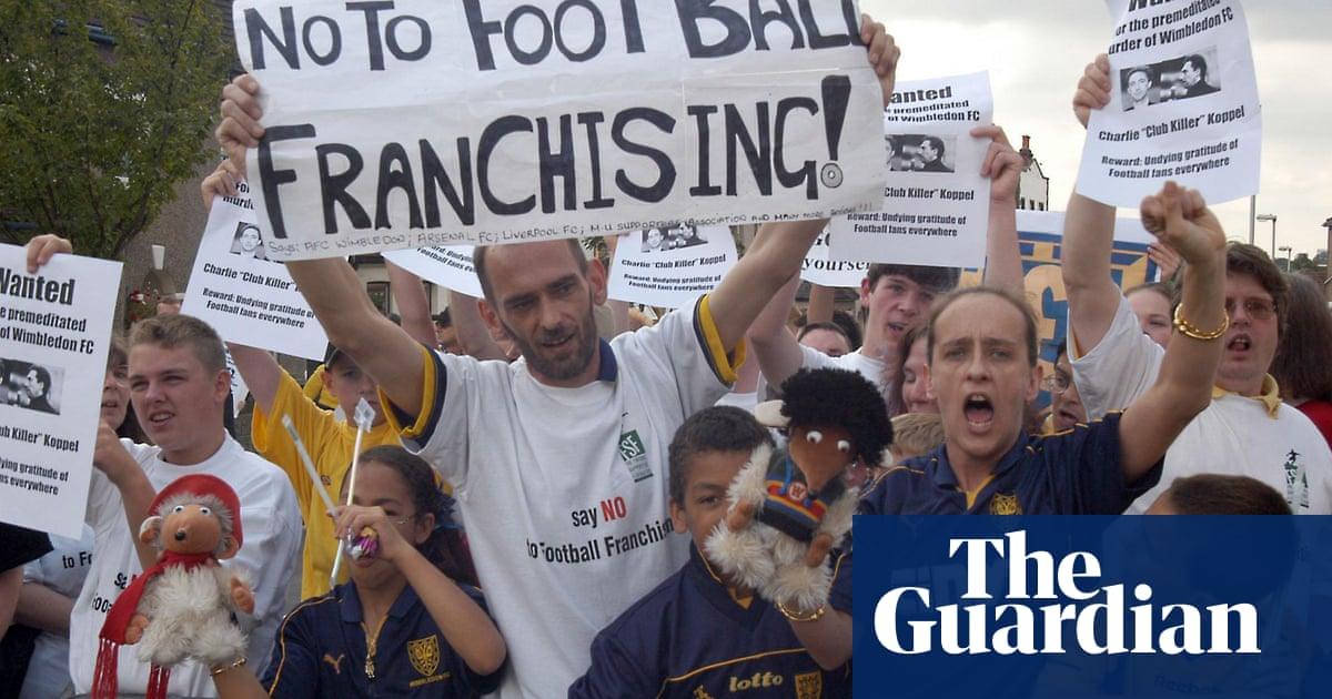 The battle for Wimbledon: realpolitik versus romance in football
