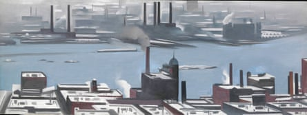 East River from the Shelton Hotel, 1928, by Georgia O'Keeffe.