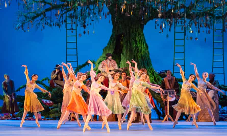 The Royal Ballet's The Winter's Tale at Royal Opera House, London.