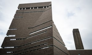 The Tate Modern extension: The Switch House.