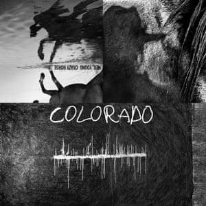 Neil Young and Crazy Horse: Colorado album artwork.