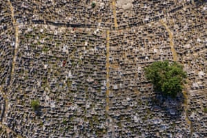 A cemetery in Hong Kong
