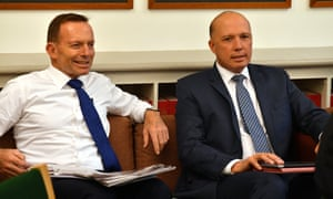 Tony Abbott and Peter Dutton
