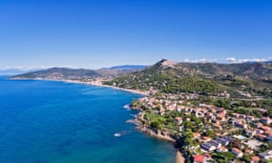 Santa Maria di Castellabate is on the sea near Acciaroli, in the beautiful Cilento National Park. It's an amazing view from high.