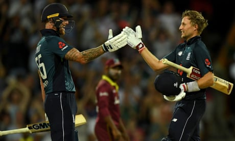 England chase down 361 v West Indies after Gayle blitz: first ODI – as it happened