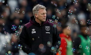David Moyes rescued West Ham from the drop in the 2017-18 season.