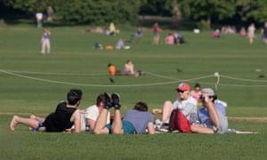 Regent's Park in May.