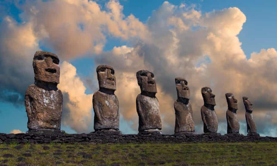 A chapter on Easter Island attempts to disprove the accepted story of how deforestation led to civil war, cannibalism and population collapse.