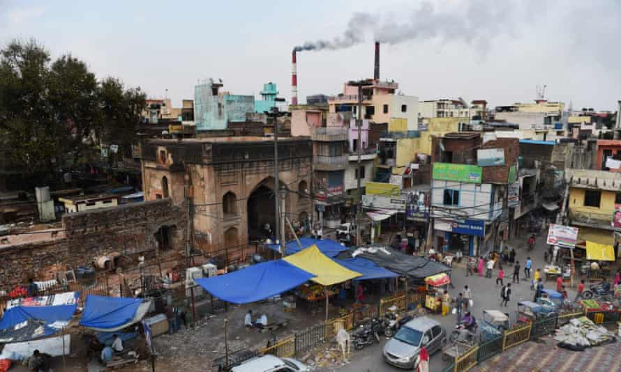 The coal-based Badarpur Thermal Station in New Delhi. India plans to double coal output to 1.5bn billion tonnes this decade.