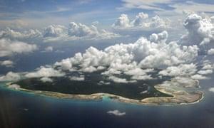 North Sentinel Island, on the southeastern Andaman and Nicobar Islands.