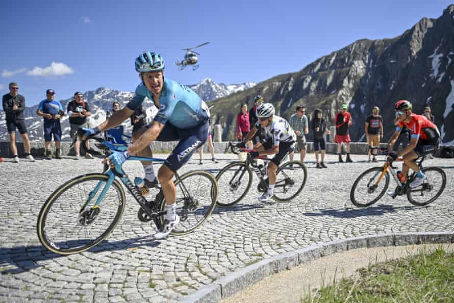 Jakob Fuglsang during the recent Tour of Switzerland.