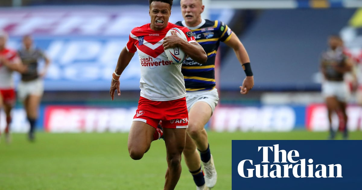 Super League roundup: St Helens thrash Leeds to keep heat on Wigan