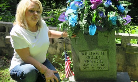 Debbie Preece remembers her brother: 'I get emotional about it because I can't get over it.'