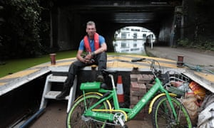 A bike-fishing trip near King's Cross