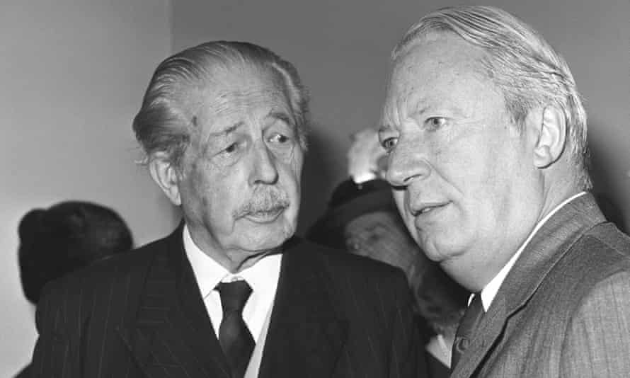 Harold Macmillan put in Britain's application for membership, but it was Edward Heath, right, who finally got us admitted.