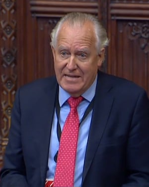 Peter Hain names Philip Green in a speech in the House of Lords under parliamentary privilege.