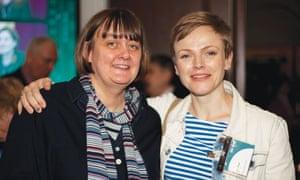 Sarah Frankcom and Maxine Peake