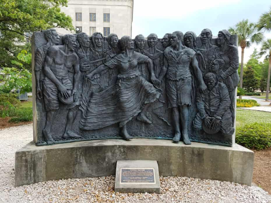 Congo Square in New Orleans
